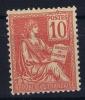 France: Yv Nr112 MH/* Avec  Charnière   1900
