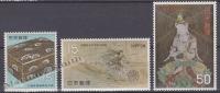 Japan - Japon 1968 Yvert 901-03, National Treasures - MNH - Nuevos