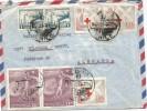 CHILE OSORNO C SELLOS CRUZ ROJA LAN CHILE FUTBOL COPA DEL MUNDO 1962 - 1962 – Chile