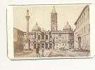 CDV PHOTO, ROME,  Basilica (Eglise) Santa Maria Maggiore, Anonymous Photographer, Circa 1870 - Antique - Photographs