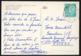 TP Matasellos *Correo Aéreo. Aéropuerto-P. De Mallorca. 23 Junio 1977* - Aéreo