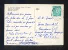 TP Matasellos *Correo Aéreo. Aéropuerto-P. De Mallorca. Agosto 1974* Poco Legible. - Aéreo