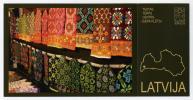 CP Publicitaire Lettone Neuve - Artisanat Textile - Craft Pattern - Latvija Latvia Lettonie Lettland - Europe