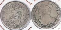 BOLIVIA ESPAÑA CARLOS III 4 REALES 1775 POTOSI PLATA SILVER W - Bolivia