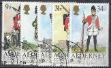 ALDERNEY 1985 - Yvert #23/7 - VFU - Alderney