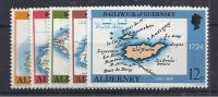 GB / ALDERNEY 1989 - Yvert# 37/41** Precio Cat. €8.50 - Alderney