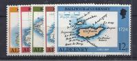 ALDERNEY 1989 - Yvert # 37/41 - MNH ** - Alderney