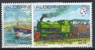 GB / ALDERNEY 1993 - Yvert# 59/60** Precio Cat. €7.00 - Alderney