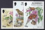 GB / ALDERNEY 1997 - Yvert# 100/02** Precio Cat. €3.25 - Alderney