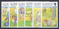ALDERNEY 2001 - Yvert #174/79 - MNH ** - Alderney