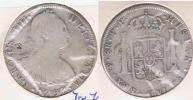 BOLIVIA ESPAÑA CARLOS IIII 8 REALES 1797 POTOSI PLATA SILVER W - Bolivia