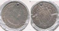 BOLIVIA ESPAÑA CARLOS IIII REAL 1808 POTOSI PLATA SILVER W - Bolivia