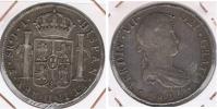 BOLIVIA ESPAÑA FERNANDO VII 8 REALES 1825 POTOSI PLATA SILVER W - Bolivia