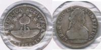 BOLIVIA MEDIO SOL 1830 POTOSI PLATA SILVER W - Bolivie