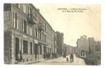 Onival - L´ Hotel Terminus Et La Rue De St Valéry - Animée - Onival