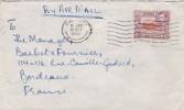 Kenya Ouganda Tanganyika Yvert  58  Sur Lettre Avion Nairobi 10/10/1952  Pour Bordeaux France - Kenya, Uganda & Tanganyika