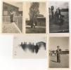 Foto/Photo. Militaria. Caserne. Militaires. A Situer. Lot De 5 Photos. - Guerre, Militaire
