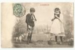 CPA L´Angélus - Enfants Et Cheval ( Jouet) - Scenes & Landscapes