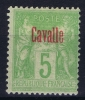 Cavalle Yv Nr 1 MH/* Avec  Charnière - Cavalle (1893-1911)