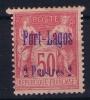 Port-Lagos  Yv Nr  8  MH/* Avec  Charnière  Signed/ Signé - Port-Lagos (1893-1931)