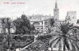 SEVILLA - Jardin Del Alcazar, Gel.1910 - Spanien