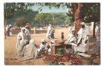 AFRICA - LEHNERT & LANDROCK 1920s POSTCARD - MARCHE - MARKET - Ansichtskarten