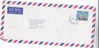 1983 Air Mail SINGAPORE Stamps COVER Pmk SINGAPORE M17 Sailing Ship - Singapore (1959-...)
