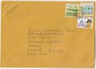 Air Mail SINGAPORE COVER 5c LION GIRAFFE 2.00 CULTURE Etc Stamps Lions - Singapore (1959-...)