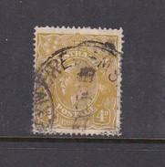 Australia 1914-24 Single Watermark King George V, SG 80, 4d Olive Used - 1913-36 George V: Heads