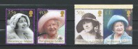 Ascension 2002 Queen Elizabeth The Queen Mother Commemoration.stamps And Block Stamps.MNH - Ascension