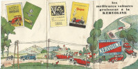 KERVOLINE Huile Pour Auto 4 Feuille Recto Verso - Advertising