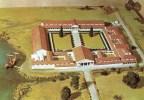 Postcard - Fishbourne Roman Palace Model, Sussex. C2771X - England