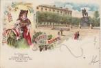 AK Gruss Aus Metz Zur Erinnerung Bundes-Sängerfest Pfingsten 1897 Gelaufen 7.6.97 - Elsass
