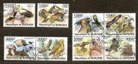 Burundi 2011 OCBn° 1254-61 (°) Used Cote 30 Euro Faune  Roofvogels Rapaces Oiseaux