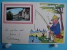 86 - Civray - CPSM - La Pêche Est Bonne - 1958 - Civray