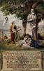 Artiste Cp Fischer, Arthur, Bismarck Denkmal, Germania, Gedicht, Länderwappen, Elsaß Lothringen - Historical Famous People