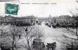 Cpa 1917, PARIS, Abattoirs De La Villette, L'entrée (47.95) - Arrondissement: 19