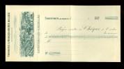 Chèque ( B 11 )  Tannerie & Maroquinerie Belges  Saventhem ( Zaventem ) - Lez - Bruxelles - Marcophilie