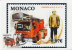 Carte Maximum  1er   Jour   MONACO   Pompiers  Monégasques   2009 - Sapeurs-Pompiers