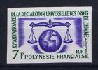 Polonesie Francaise: Nr 25 Non Dentelée   MNH/** Sans Charnière  1963 - Neufs