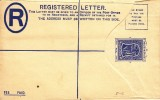Entier, Registered Letter (07495) - Montserrat