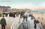 Postcard - Hornsea Sea Wall, Yorkshire. A - Hull