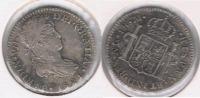 GUATEMALA ESPAÑA FERNANDO VIII  REAL 1821 PLATA SILVER W BONITA - Guatemala