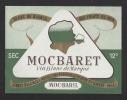 Etiquette De Vin De Table Blanc  Année 50/60 - Mocbaret -  Thème Femme  - Moc Baril  à St Hilaire St Florent  (49) - Labels