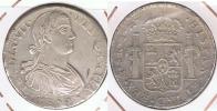 MEXICO ESPAÑA FERNANDO VII 8 REALES 1809  PLATA SILVER W2 - México