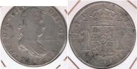 MEXICO ESPAÑA FERNANDO VII 8 REALES 1819  PLATA SILVER W2 - México