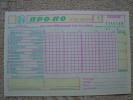 Greece 1989 Propo Football Pool Greek & Italy Soccer Matches Prediction Triplicate Coupon New No1 - Football