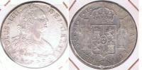 PERU ESPAÑA CARLOS IIII 8 REALES 1799 LIMA PLATA SILVER W - Perú