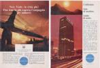 1967/8 - PAN AM  -  9  Pagine Pubblicità Cm. 13 X 18 - Pubblicità