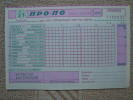 Greece 1991 Propo Football Pool Greek Soccer Matches Prediction Triplicate Special Coupon New No2 - Football
